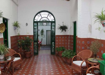 Patio típico andaluz