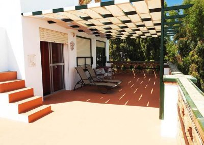 Habitación con terraza