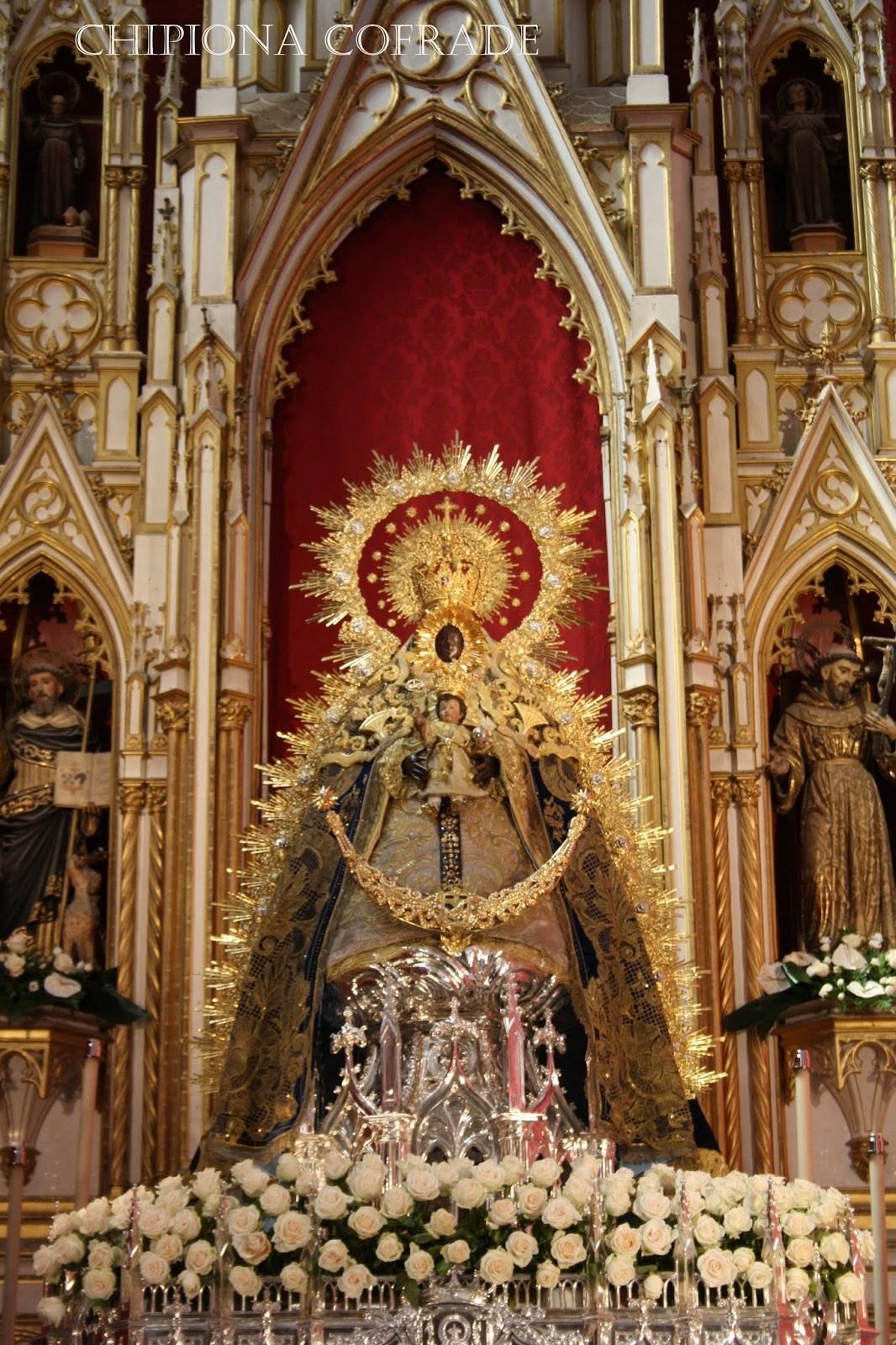 El santuario de Nuestra Señora de Regla es un monasterio y santuario localizado en Chipiona, España