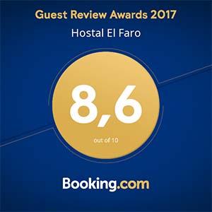 puntuación Booking.com